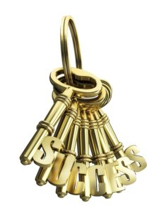klucze z namisem sukces